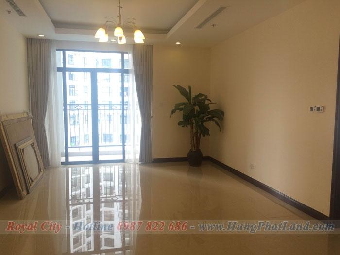 Cho thuê căn hộ chung cư Royal City tòa R3 109m2, 2 phòng ngủ