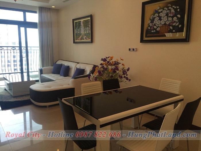 căn hộ chung cư Royal City R5 đủ đồ, 2 phòng ngủ - Căn hộ cực đẹp