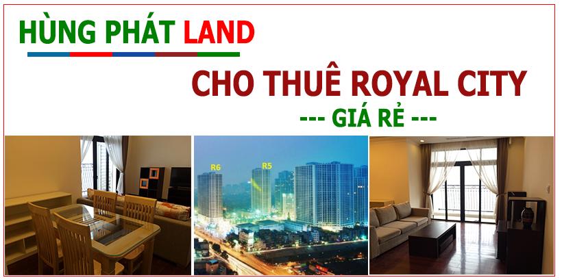HOMESLAND cho thuê Royal City