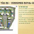 Vị trí toà chung cư Royal City R6
