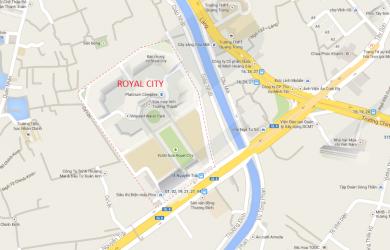 vị trí royal city