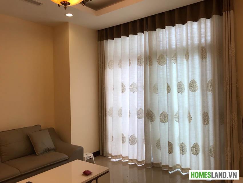 Rèm cửa căn hộ tại phòng khách Royal City