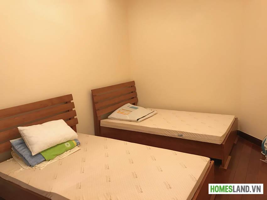 Phòng ngủ nhỏ căn hộ royal city R4 93m2 đủ đồ