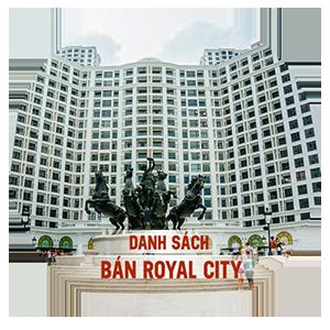 royal city 1 phòng ngủ