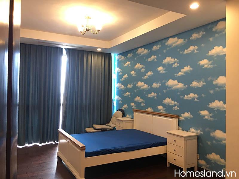 Phòng ngủ lớn - căn hộ Royal City 132m2, R2