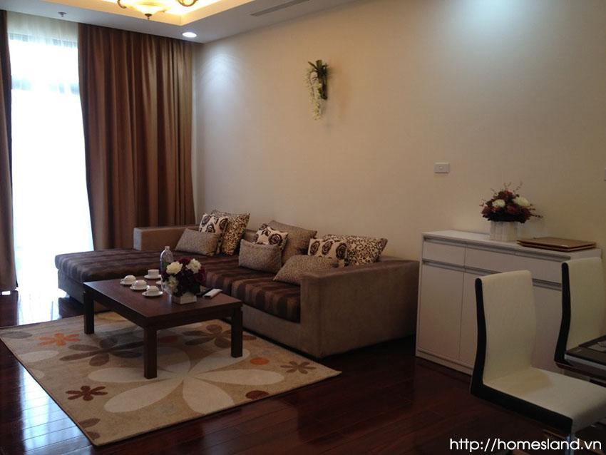 Bộ bàn ghế Sofa phòng khách Royal City 110m2