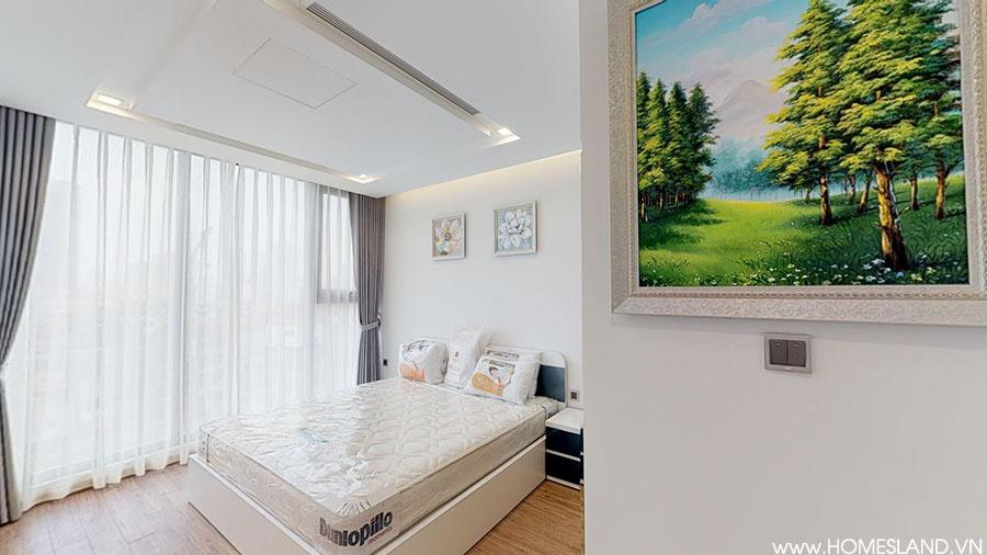 Phòng ngủ nhỏ căn hộ 2 ngủ đủ đồ M2 cho thuê