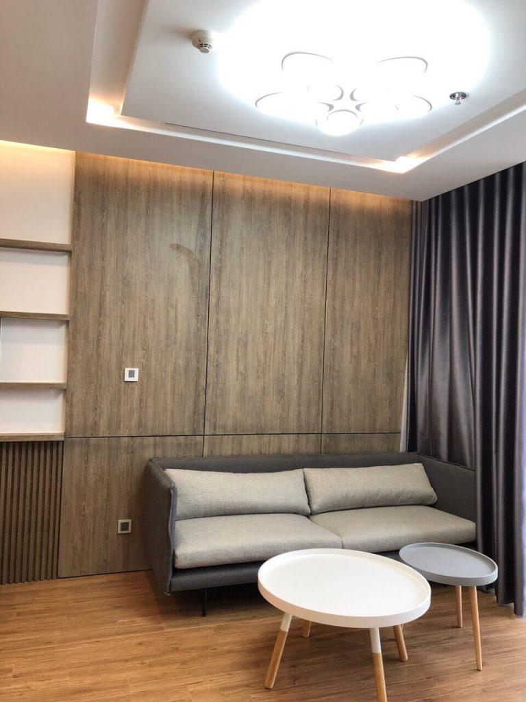 Bộ sofa phòng khách - căn hộ Metropolis M2 đủ đồ