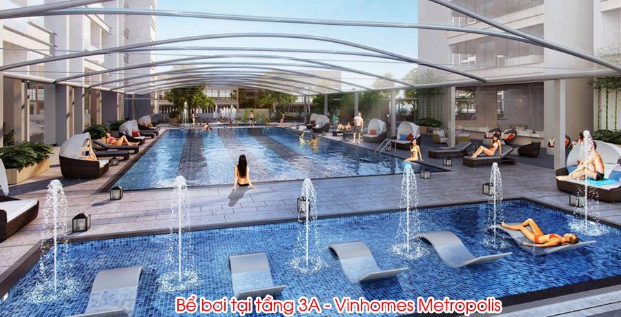 bể bơi vinhomes metropolis