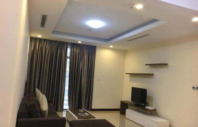 Không gian toàn cảnh căn hộ 2PN R3 Royal City