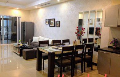 phòng khách căn hộ R4 Royal City