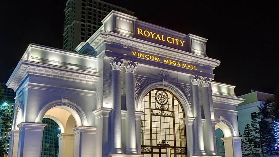 cổng chào vincom royal city