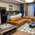 Phòng khách căn hộ 4pn đủ đồ tòa M1
