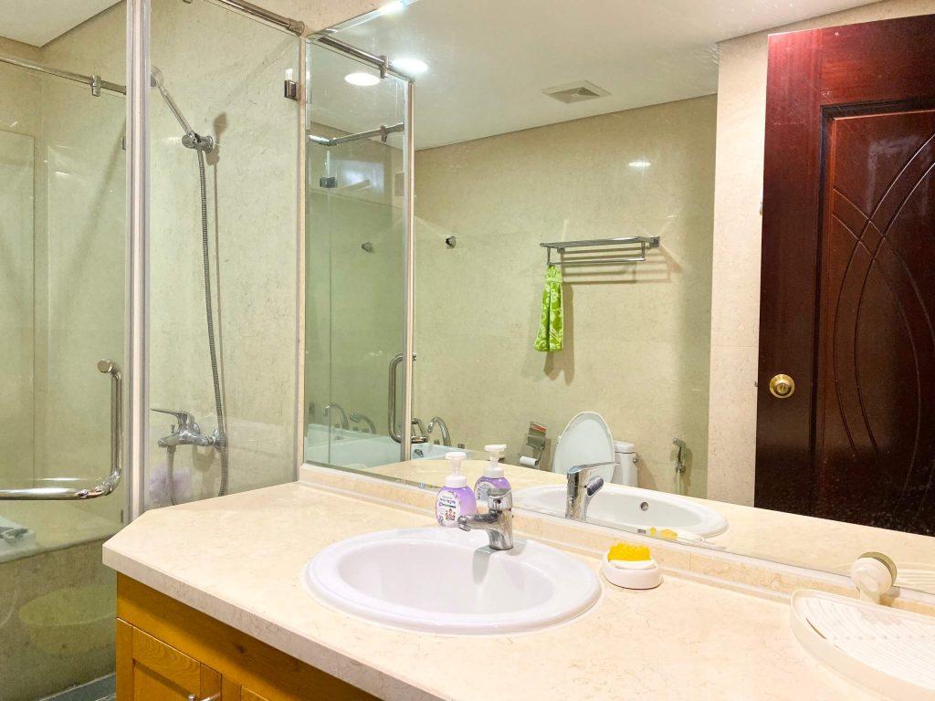 Phòng tắm của căn hộ 3pn