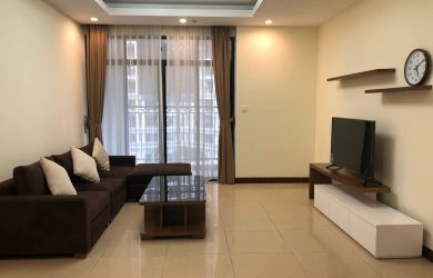 Không gian phòng khách-căn hộ 2 ngủ R3 Royal City