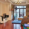 Không gian phòng khách của căn hộ 3pn đủ đồ tòa R4