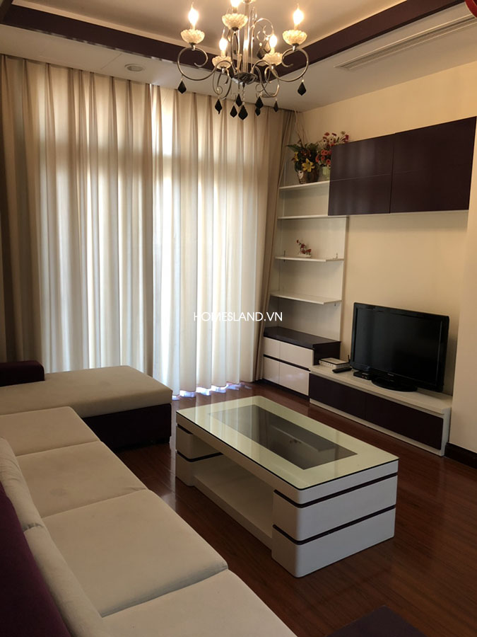 Bộ bàn ghế Sofa phòng khách căn hộ 102m2 R5 Royal City