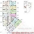 Mặt bằng R5B Royal City