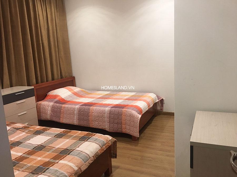 Phòng ngủ thứ 3: có 2 giường - căn hộ 3 ngủ R6 Royal City