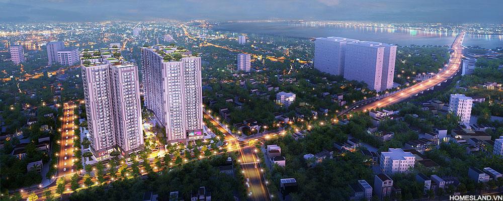 phối cảnh căn hộ chung cư Imperia Sky garden 423 Minh Khai
