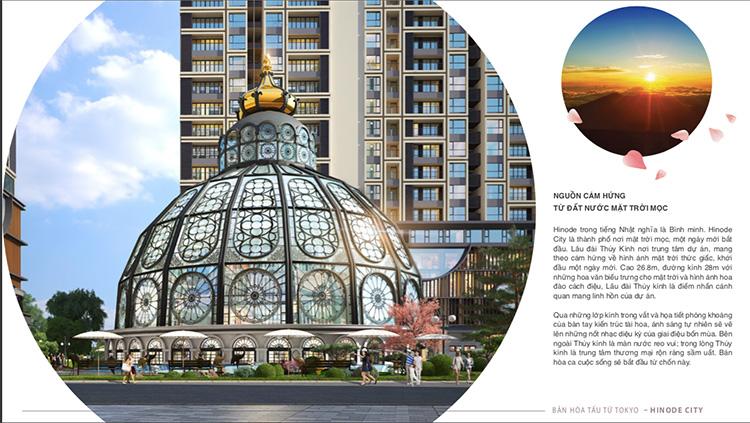 Nguồn cảm hứng thiết kế Hinode City