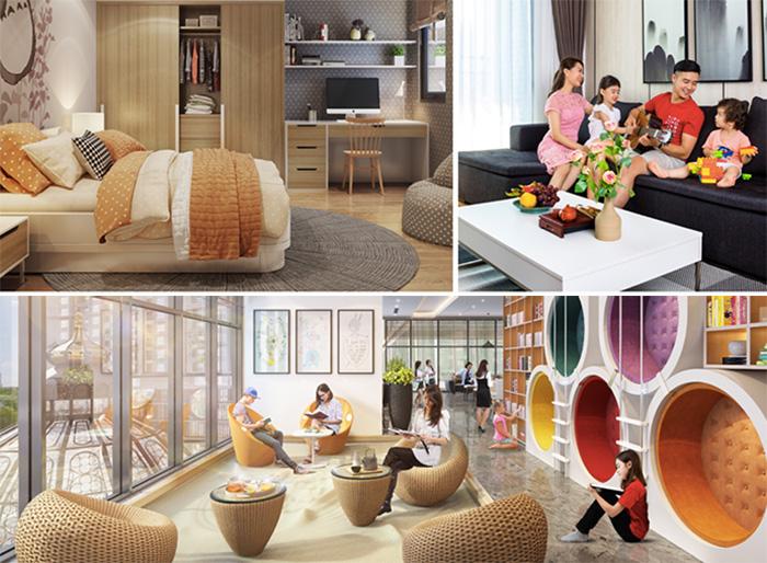 Tiện ích dự án Hinode City 201 Minh Khai