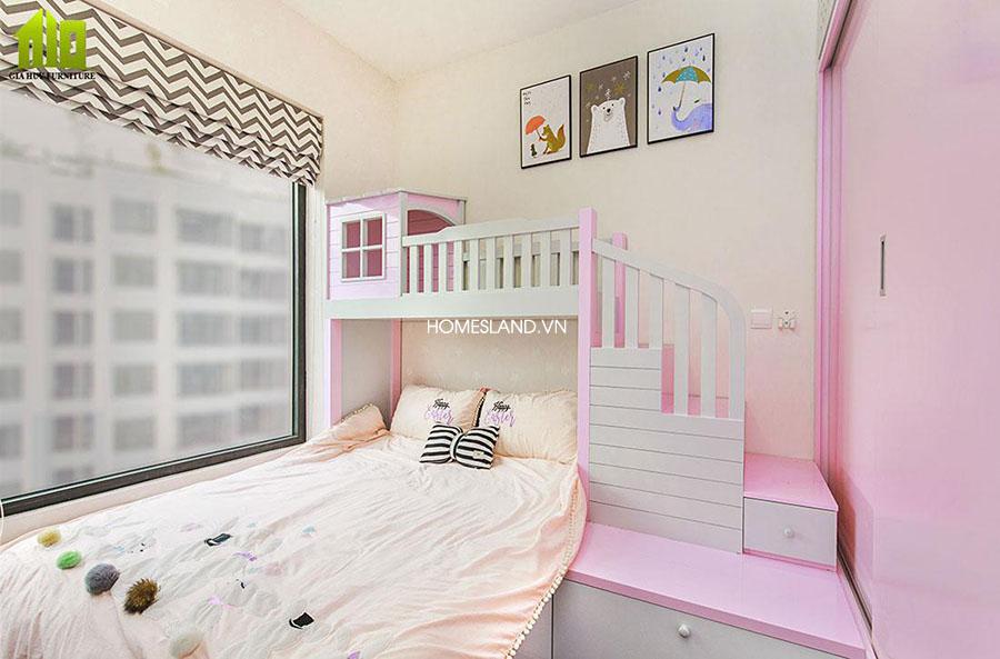 Phòng ngủ nhỏ - căn hộ 78m2 toà B Imperia Sky Garden