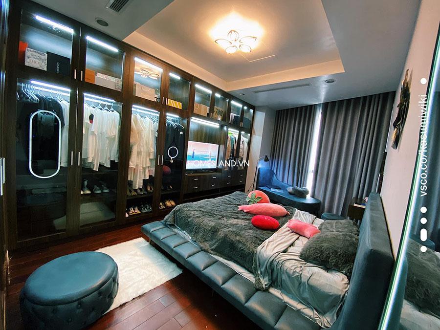 Không gian phòng khách căn hộ