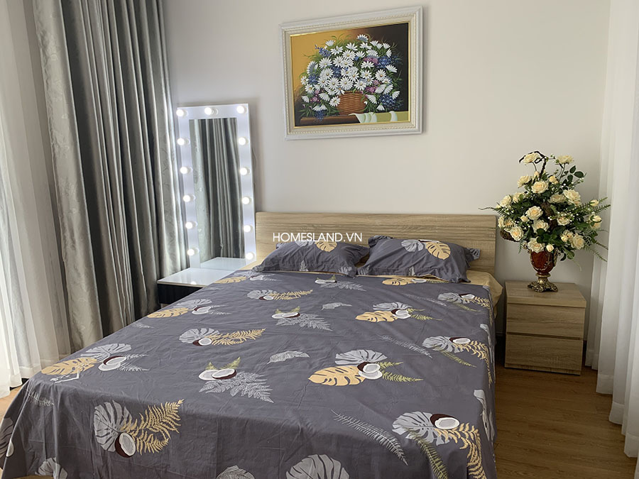 Giường phòng ngủ căn hộ