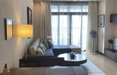 Phòng khách căn hộ 96m2 tòa R2 (2 phòng ngủ thoáng)