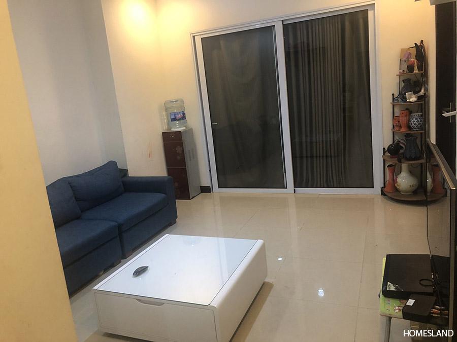 Phòng khách căn hộ 3 ngủ 103m2 tòa R4