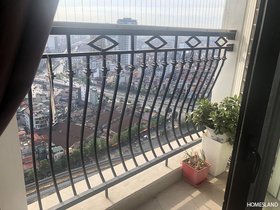 View từ căn hộ 103m2 tòa R4