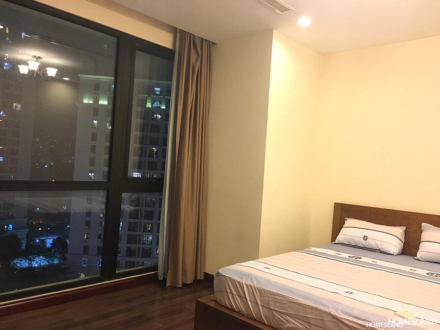 Phòng ngủ master của căn hộ 3 ngủ