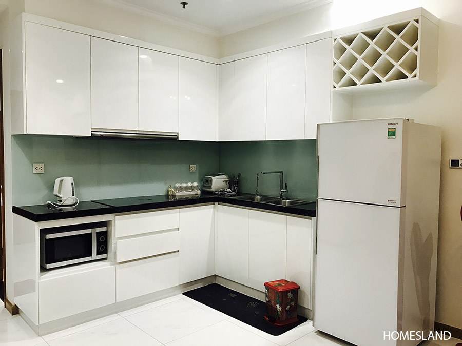 Không gian bếp - căn hộ 1 ngủ toà R6