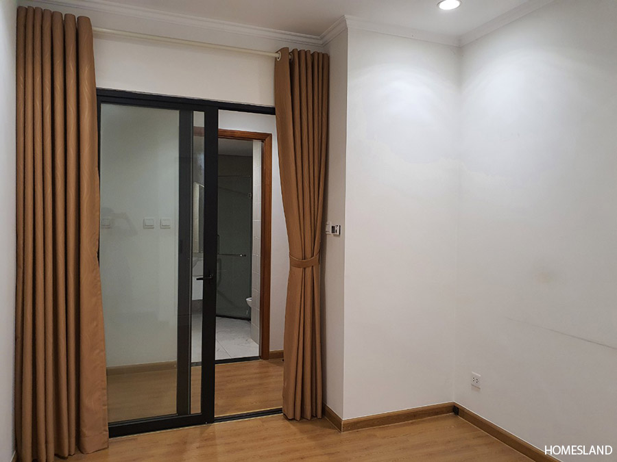 Phòng ngủ nhỏ của căn hộ 2 ngủ