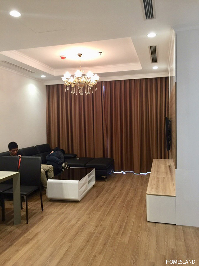 Phòng khách căn hộ 3 phòng ngủ 103m2