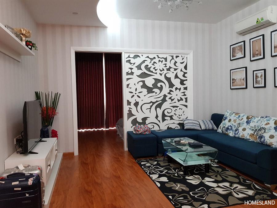 Phòng khách căn hộ 1 ngủ tòa R6