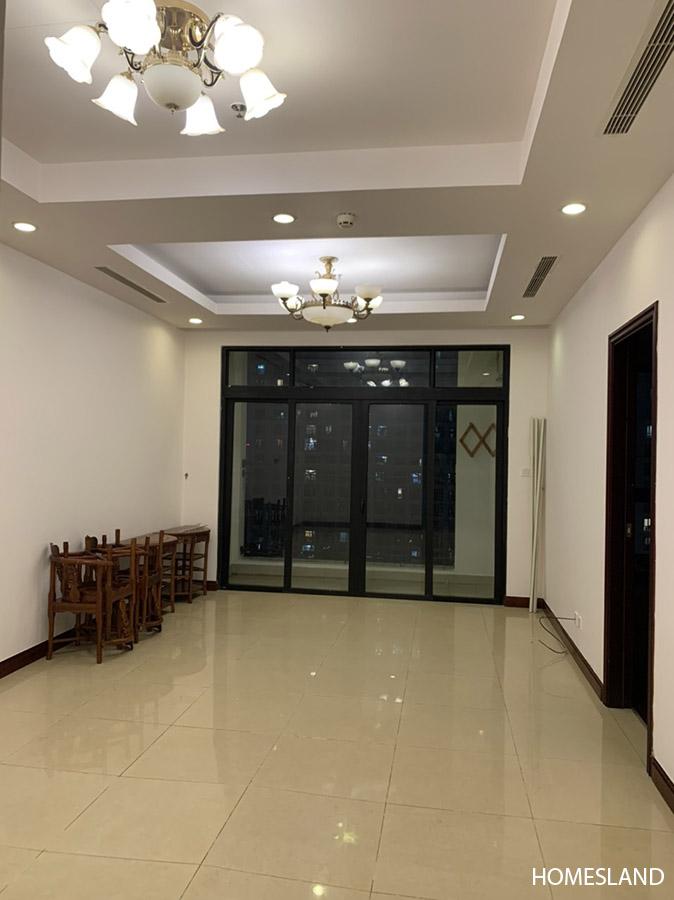 Không gian phòng khách - căn hộ 2 ngủ toà R4