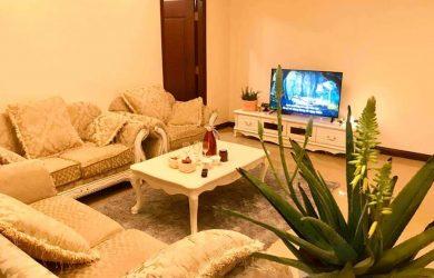 Sofa & bàn trà - căn hộ 2 ngủ toà R2