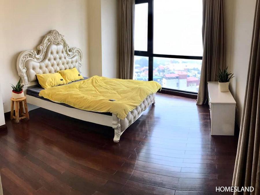 Phòng ngủ Master - căn hộ 2 ngủ toà R2