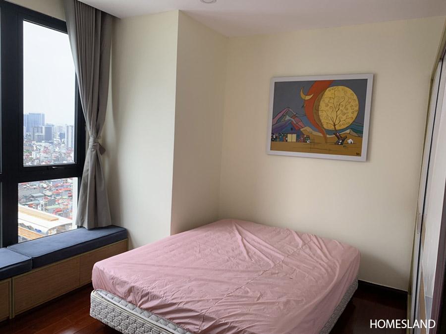 Phòng ngủ sáng thứ 2 - căn hộ 3 ngủ toà R4