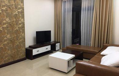 Không gian phòng khách - căn hộ 2 ngủ toà R5