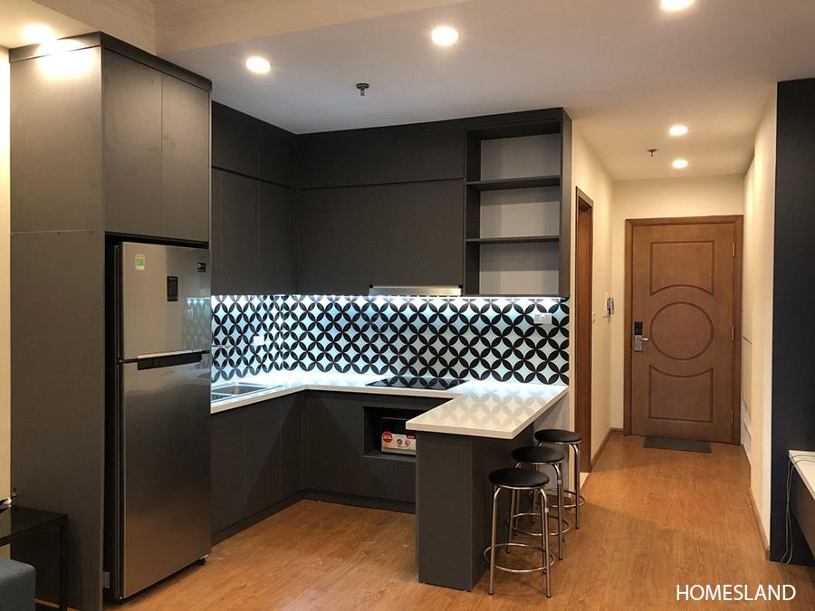 Không gian bếp - căn hộ 1 ngủ, toà R6