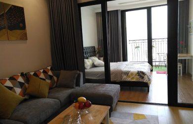Sofa và phòng ngủ - căn hộ toà R6