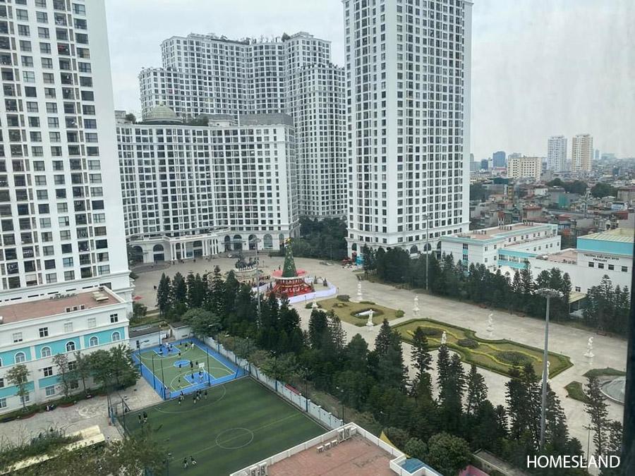 View từ ban công căn hộ 2 ngủ, 70m2 toà R6