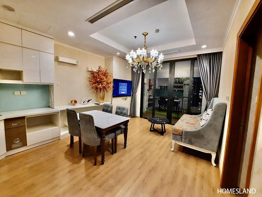Ảnh phòng khách - căn hộ 2 ngủ, 70m2, toà R6