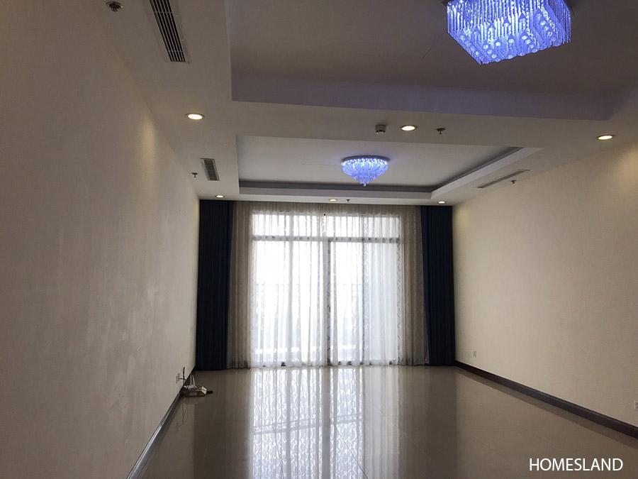 Không gian phòng khách - căn hộ 2 ngủ toà R2 Royal City