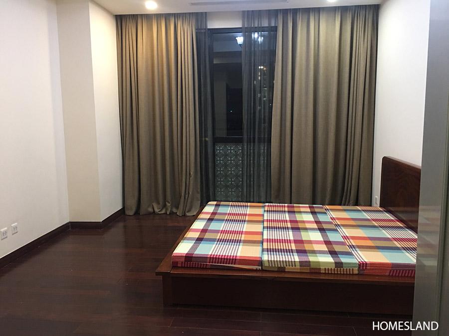 Phòng ngủ Master căn hộ 2 ngủ sáng toà R1