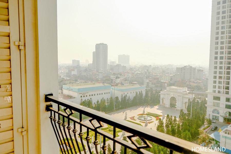 Tầm view căn hộ nhìn từ ban công