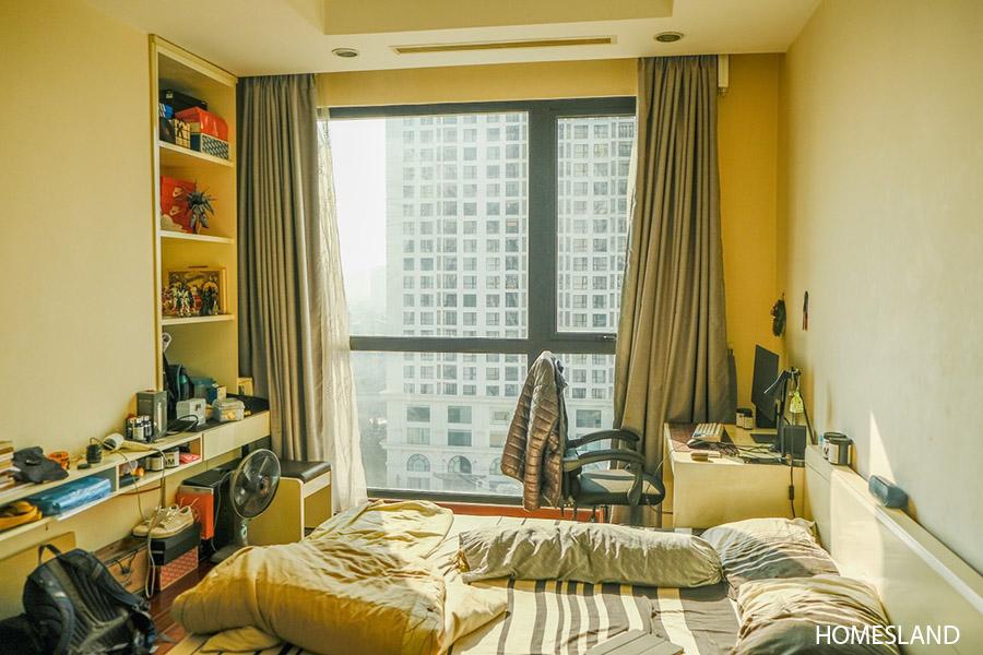 Phòng ngủ Master - căn hộ 2 ngủ toà R5